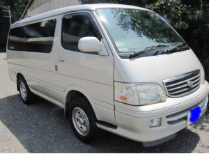 2000 toyota hiace super custom g kzh106 kzh106w 3.0 diesel for sale in japan 181k