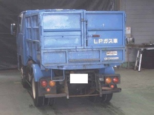 2002 isuzu elf lpg nkr81 nkr 81 liquefied petroleum gas tipper dump truck for sale in japan 130k-1