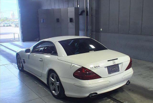 mercedes benz 500sl 2003 for sale in japan