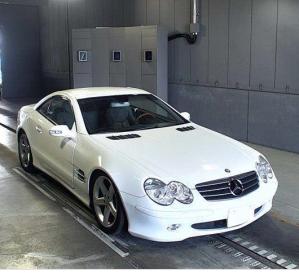 2003 mercedes benz 500 sl 5.0 for sale in japan