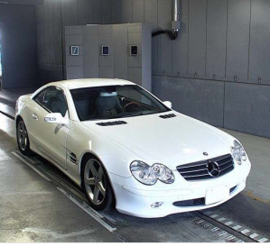 2003 mercedes benz 500 sl 5.0 for sale in japan