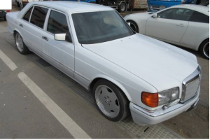 1986 mercedes benz 560sel for sale japan