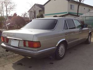 1987 mercedes benz 560 sel for sale in japan-1