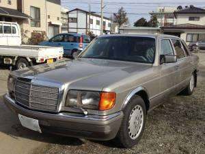 1987 mercedes benz 560 sel for sale in japan