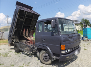 1989 hino 4 ton tipper dump truck fd17bd h07c for sale japan 310k-1