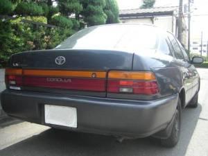 1992 toyota corolla ae100 lx sale japan 36k-1