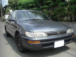 1992 toyota corolla ae100 lx sale japan 36k