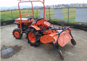 kubota farm tractor B7001 4wd for sale in japan