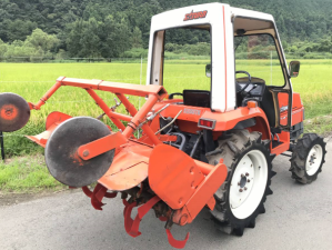 used kubota x20 saturn 4wd farm tractor for sale in japan