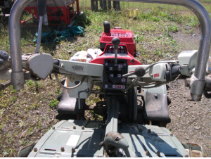 used yanmar tiller yc750 for sale in japan.1