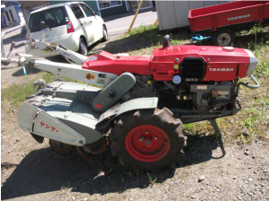used Yanmar tiller yc750 for sale in japan