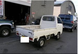 1983 honda acty kei truck used TA for sale in japan 5k-1