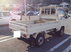 1988 mitsubishi minicab truck u15t for sale japan used 65k-1