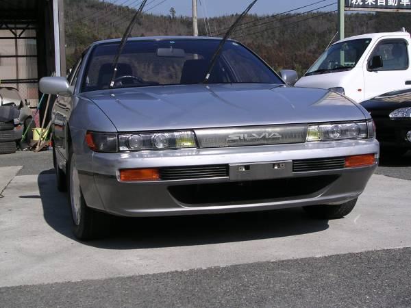 1989 nissan silvia s13 sr20de 20 year old car frontal impact import regulation jpn car name. Black Bedroom Furniture Sets. Home Design Ideas