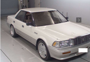 toyota crown uzs131 royal saloon g for sale in japan