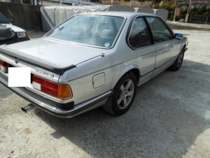 1986 bmw 635csi 50k for sale japan-1
