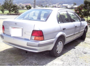 1996 toyota corsa 1.5 el53 for sale in japan used cars 110k-1