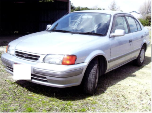 1996 toyota corsa 1.5 el53 for sale in japan used cars 110k