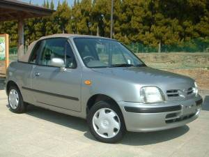 1997 nissan march convertible for sale japan 21k-1