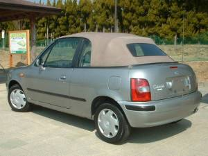 1997 nissan march convertible for sale japan 21k-2
