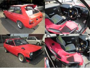 1984 kp61 starlet 170k sale japan 1.8G-1