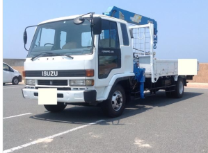 isuzu 1990 forward crane boom trucks frr 32 frr32 7200 for sale inn japan