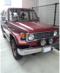 1991 toyota land cruiser pzj77 3.5 pzj77v for sale in japan 280k