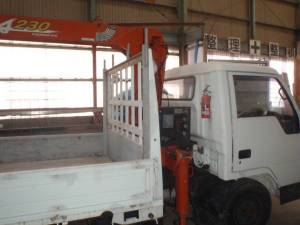1989 miotsubishi fuso canter crane truck for sale in japan fe425e 96k
