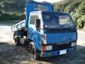 1989 mitsubishi fuso canter 2 ton dump tipper truck for sale japan fe305bd