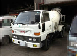 1990 daihatsu concrete mixer truck hv118 for sale in japan 120k