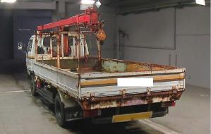 WU09 4.0 diesel crane boom truck for sale japan