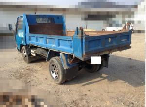1991 mitsubishi canter 2 ton dump truck tipper sale japan 210k-1