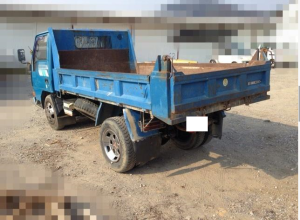 1991 mitsubishi canter 2 ton dump truck tipper sale japan 210k-1