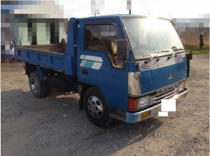 1991 mitsubishi canter 2 ton dump truck tipper sale japan 210k-2