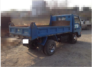 1991 mitsubishi canter 2 ton dump truck tipper sale japan 210k-4