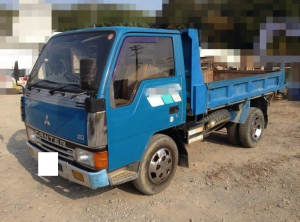 1991 mitsubishi canter 2 ton dump truck tipper sale japan 210k