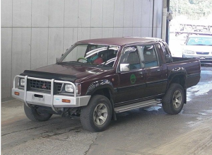 1991 mitsubishi strada l200 2.5 diesel k34t s-k34t for sale japan 170k