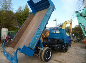 1992 mitsubishi canter dump tipper truck fe315bd for sale japan 2 ton 78k-2