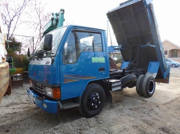 Home 187 mitsubishi canter dump truck