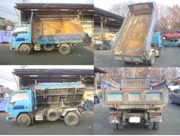 1992 mitsubishi canter dump truck tipper FE315bd 4d32 used japanese for sale japan 94k-1