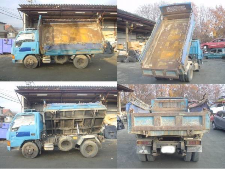1992 mitsubishi canter dump truck tipper FE315bd 4d32 used japanese for sale japan 94k-1