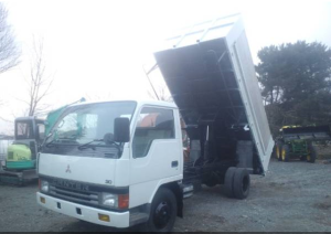 1992 mitsubishi canter tipper 4d33 for sale in japan 170k