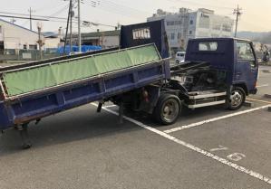 fe 305 bd mitsubishi fuso loader tipper dump truck for sale in japan