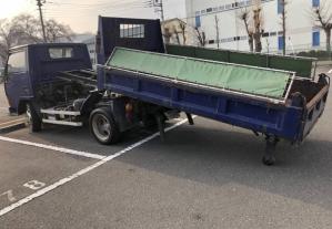 mitsubishi fuso model fe305bd tipper trucks for sale in japan