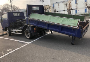 mitsubishi fuso model fe305bd tipper trucks for sale in japan