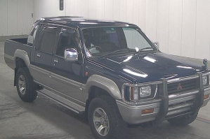 1993 mitsubishi strada double cab cabin pickup truck trucks 4wd manual k34t for sale in japan