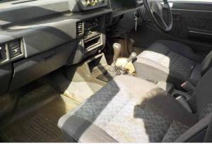 1993 mitsubishi strada hardbody k34t diesel dobule cab 2.5 diesel for sale japan 109k-2