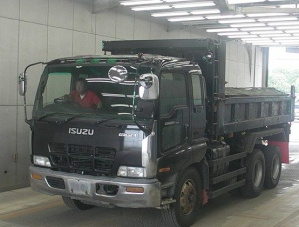 isuzu giga cxz81k2d tipper dump truck for sale japan