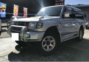 1998 mitsubishi pajero v45 v453 Automatic AT 3.5 gasoline 3500cc for sale japan
