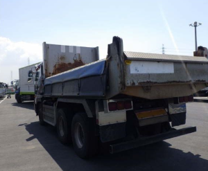 nisssan diesel UD big thumb cw55 tipper tippers truck trucks cw55ahud for sale in japan